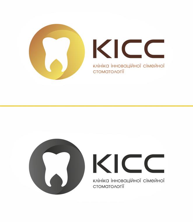 Логотип стоматологической компании КИСС
